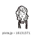 挿絵 線画 ベクターのイラスト 16131371