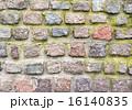 列石 壁 古いの写真 16140835