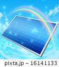 ソーラー発電 ソーラーパネル 太陽電池のイラスト 16141133