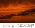 夕焼け 夕暮れ 雲の写真 16141347