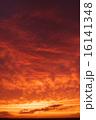 夕焼け 夕暮れ 雲の写真 16141348