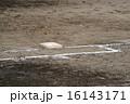 一塁ベース ファーストベース グラウンドの写真 16143171