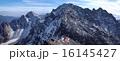 山並み 穂高連峰 穂高岳の写真 16145427