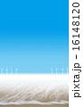 海と風車と空と夏 16148120