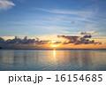 サンセット 海 夕日の写真 16154685