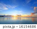 サンセット 海 夕日の写真 16154686