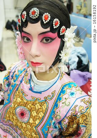 京劇メイク 16158192