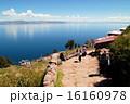 タキーレ島 チチカカ湖 ペルーの写真 16160978