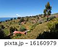 タキーレ島 ペルー 村の写真 16160979