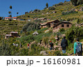 タキーレ島 ペルー 村の写真 16160981
