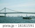 東京湾 屋形船とレインボーブリッジ 16161591