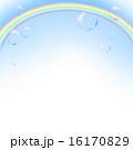 背景 虹 素材のイラスト 16170829