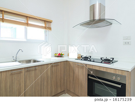 Interior kitchen with electricの写真素材 [16175239] - PIXTA