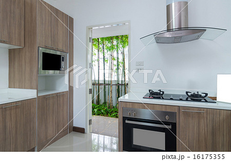 Interior kitchen with electricの写真素材 [16175355] - PIXTA