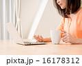 ミドルの女性(パソコン) 16178312