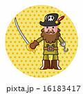 キャプテン 船長 海賊のイラスト 16183417