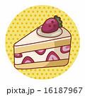洋菓子 ペストリー スウィーツのイラスト 16187967