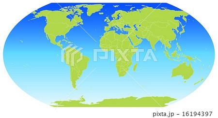 世界 地図 地球儀 のイラスト素材 16194397 Pixta