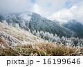 雪 スノー 雪の山の写真 16199646