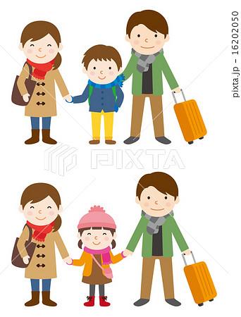 家族旅行 冬 16202050