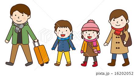 家族旅行 冬 16202052
