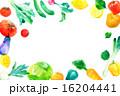 野菜フレーム 横 16204441