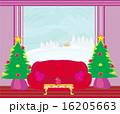 暮らし 生計 クリスマスツリーのイラスト 16205663