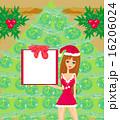 女の子 コスチューム 衣装のイラスト 16206024