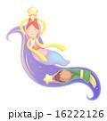 織姫 天の川 彦星のイラスト 16222126