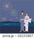 花火大会 夏 花火のイラスト 16225867
