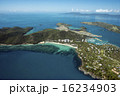グレートバリアリーフ、ウイットサンデー島空撮-1 16234903