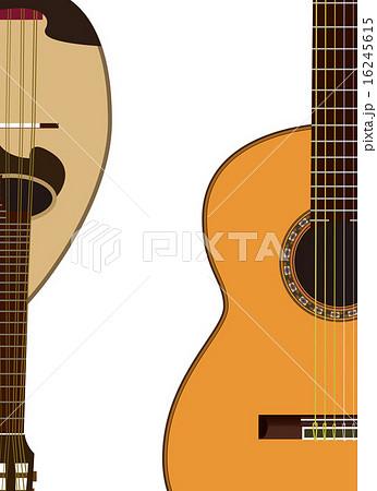 ギターマンドリンのイラスト素材 16245615 Pixta