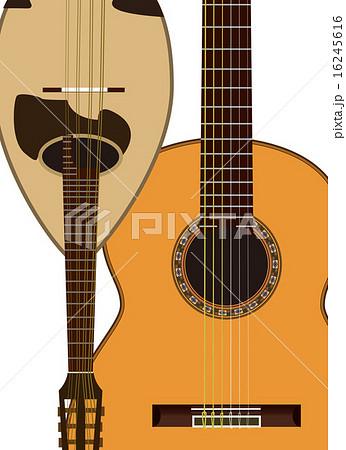 ギターマンドリンのイラスト素材 16245616 Pixta