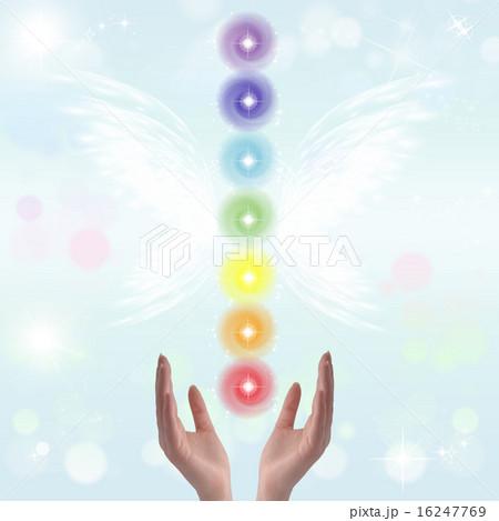 Healing Hands and seven chakras 16247769