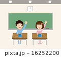タブレット タブレット学習 ベクターのイラスト 16252200