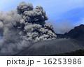 噴火 火口 噴煙の写真 16253986