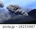 噴火 火口 噴煙の写真 16253987