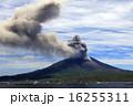 噴煙 噴火 火口の写真 16255311