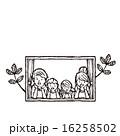 ベクター 線画 人物のイラスト 16258502