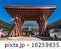 石川県 金沢駅 鼓門 16259835