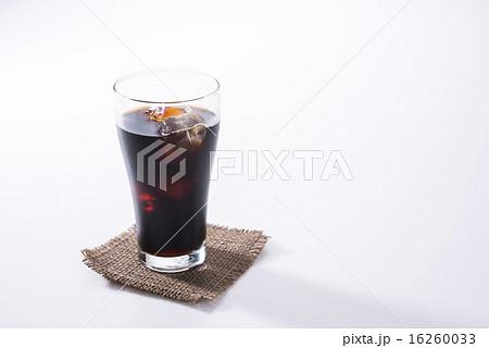アイスコーヒーの写真素材 [16260033] - PIXTA