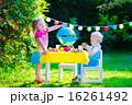 遊ぶ ピクニック グリルの写真 16261492