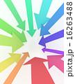 集まる 矢印 集中のイラスト 16263488