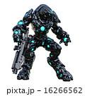 CG ガン 二足歩行のイラスト 16266562