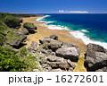 コバルトブルー 喜屋武岬 岬の写真 16272601