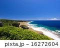 コバルトブルー 喜屋武岬 岬の写真 16272604