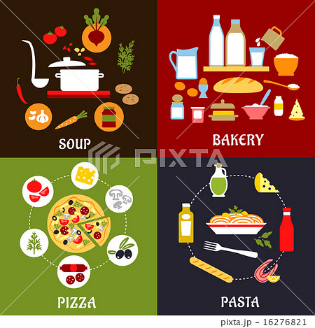 Cooking processes of vegetarian and fast food 16276821