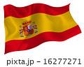 象徴 国旗 スペインのイラスト 16277271