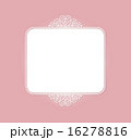 白のフレーム 16278816