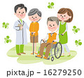 車椅子 福祉 介護のイラスト 16279250